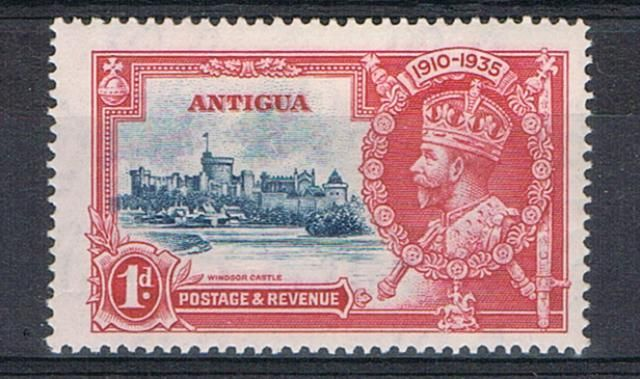 Image of Antigua SG 91f LMM British Commonwealth Stamp