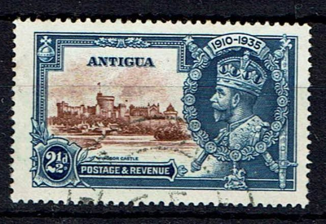 Image of Antigua SG 93g FU British Commonwealth Stamp