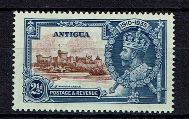 Image of Antigua SG 93g LMM British Commonwealth Stamp