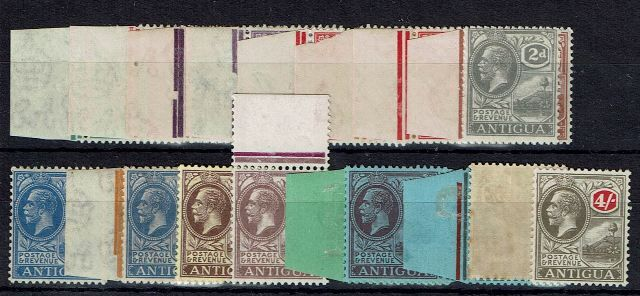 Image of Antigua SG 62/80 FU British Commonwealth Stamp