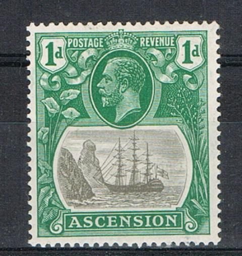 Image of Ascension SG 11d LMM British Commonwealth Stamp