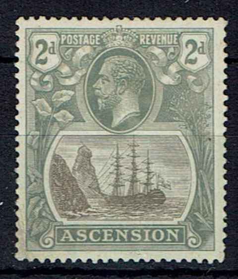 Image of Ascension SG 13b LMM British Commonwealth Stamp