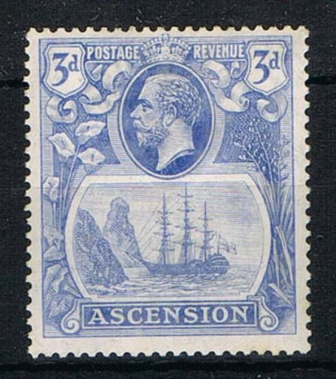 Image of Ascension SG 14b LMM British Commonwealth Stamp