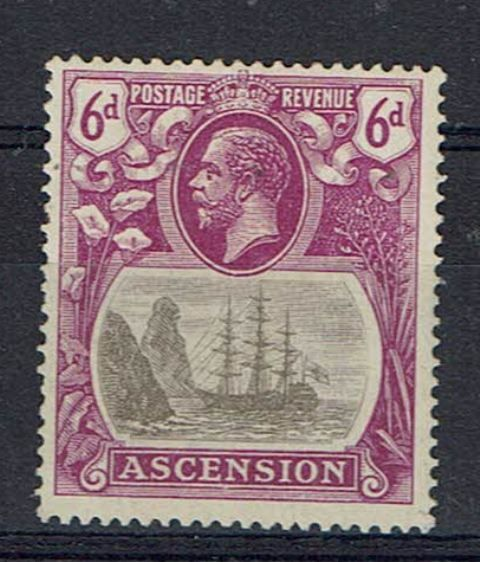Image of Ascension SG 16c LMM British Commonwealth Stamp