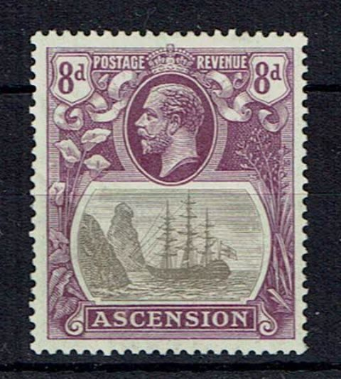 Image of Ascension SG 17a VLMM British Commonwealth Stamp