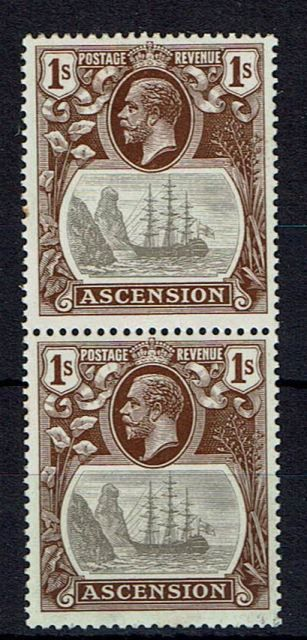 Image of Ascension SG 18/18a UMM British Commonwealth Stamp