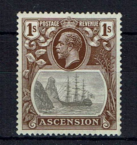 Image of Ascension SG 18a LMM British Commonwealth Stamp