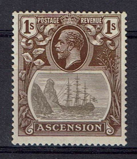 Image of Ascension SG 18a MM British Commonwealth Stamp