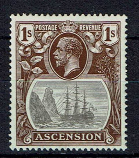 Image of Ascension SG 18b LMM British Commonwealth Stamp
