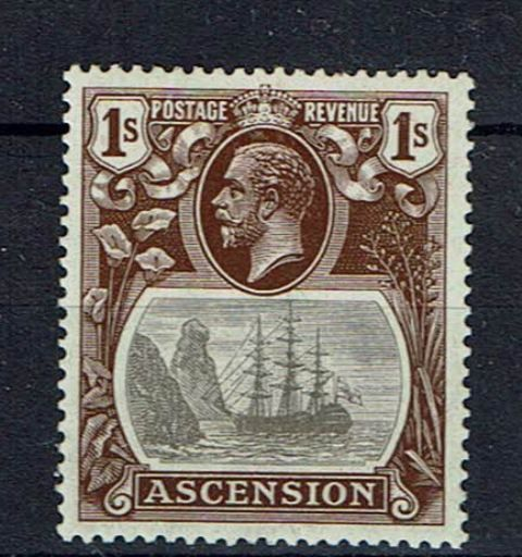 Image of Ascension SG 18b MM British Commonwealth Stamp