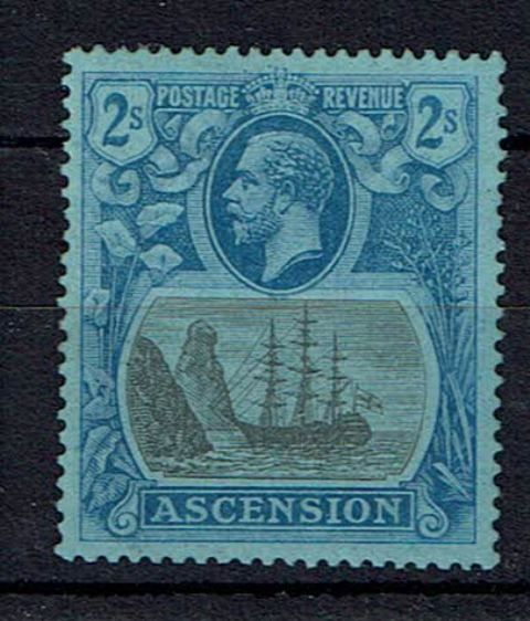 Image of Ascension SG 19a LMM British Commonwealth Stamp