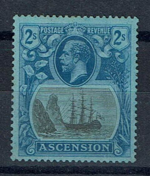 Image of Ascension SG 19b MM British Commonwealth Stamp