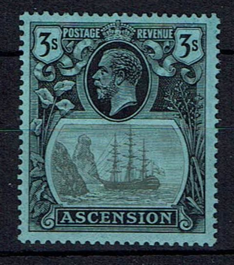 Image of Ascension SG 20b LMM British Commonwealth Stamp