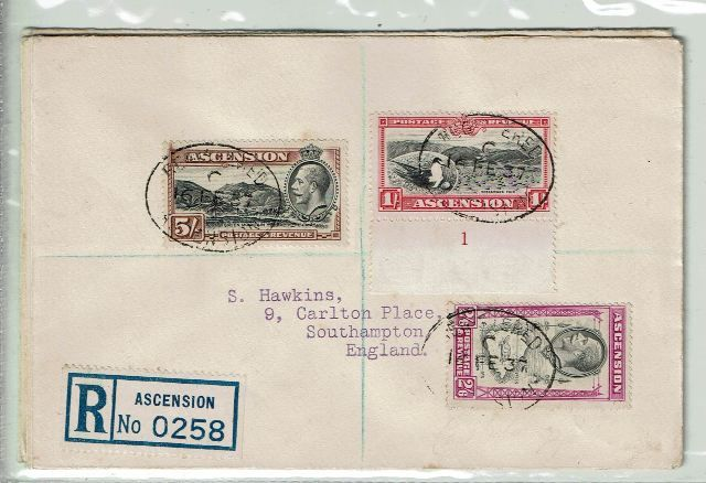 Image of Ascension SG 21/30 FU British Commonwealth Stamp
