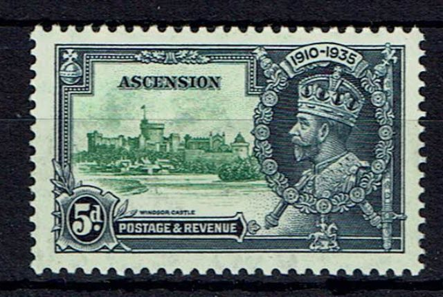 Image of Ascension SG 33k VLMM British Commonwealth Stamp