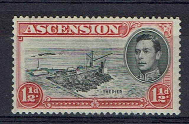 Image of Ascension SG 40a LMM British Commonwealth Stamp