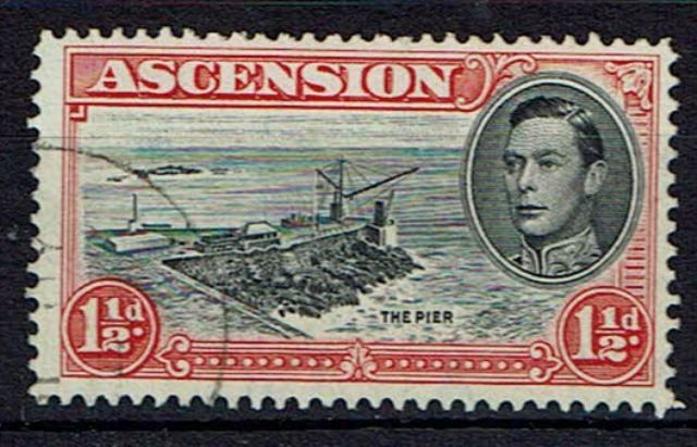 Image of Ascension SG 40ba FU British Commonwealth Stamp