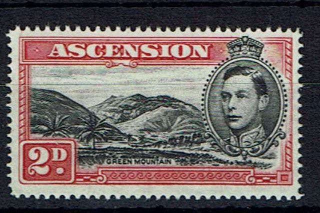 Image of Ascension SG 41ca LMM British Commonwealth Stamp