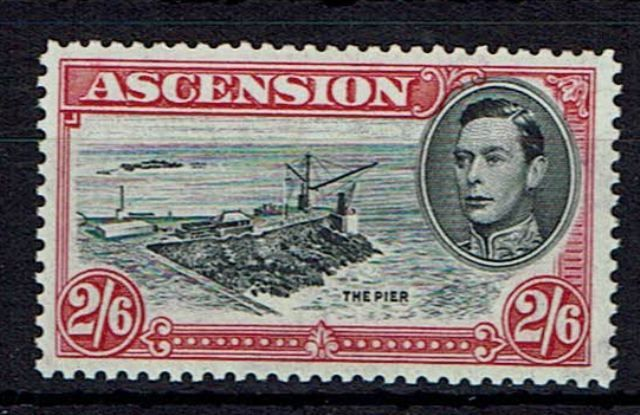 Image of Ascension SG 45ca LMM British Commonwealth Stamp