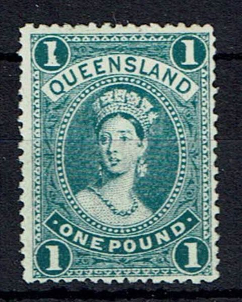 Image of Australian States ~ Queensland SG 312 LMM British Commonwealth Stamp
