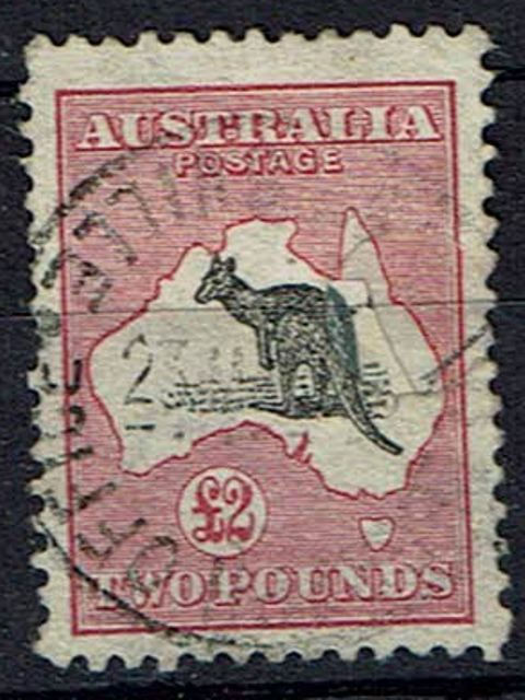 Image of Australia SG 16 FU British Commonwealth Stamp