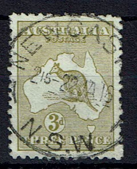 Image of Australia SG 5ew FU British Commonwealth Stamp