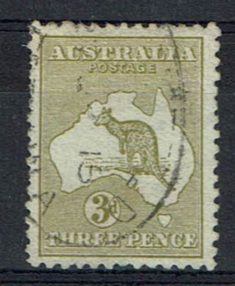 Image of Australia SG 2/2var UMM British Commonwealth Stamp