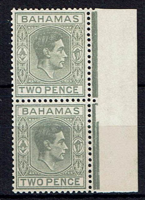 Image of Bahamas SG 152/152a LMM British Commonwealth Stamp