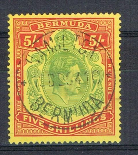 Image of Bermuda SG 118a FU British Commonwealth Stamp
