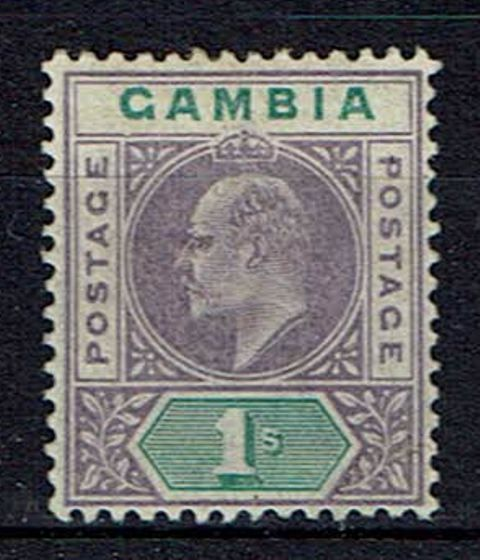 Image of Gambia SG 52a LMM British Commonwealth Stamp