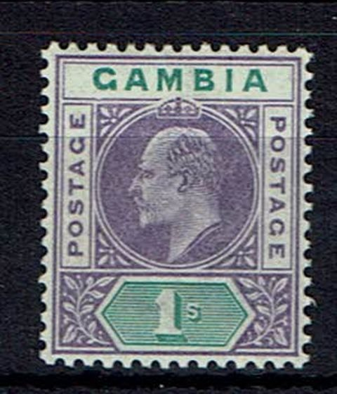 Image of Gambia SG 52a MM British Commonwealth Stamp