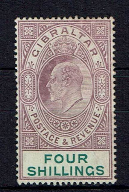 Image of Gibraltar SG 63 MM British Commonwealth Stamp